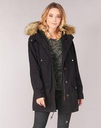 Textiel Dames Parka jassen Ikks FLARW Zwart