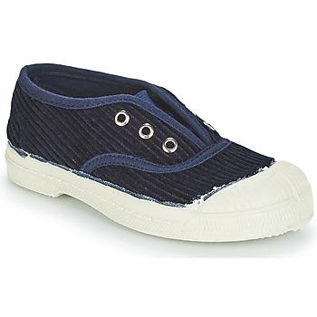 Schoenen Kinderen Lage sneakers Bensimon TENNIS ELLY CORDUROY Marine