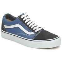 Schoenen Lage sneakers Vans OLD SKOOL Blauw
