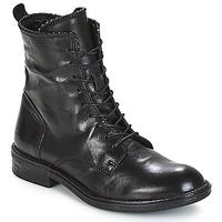 Schoenen Dames Laarzen Mjus PAL LACE Zwart