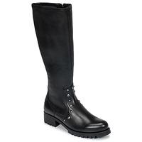 Schoenen Dames Hoge laarzen Unisa IKERI Zwart