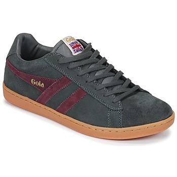Schoenen Heren Lage sneakers Gola Equipe Suede Grijs / Bordeaux