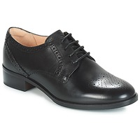 Schoenen Dames Derby Clarks NETLEY ROSE Zwart