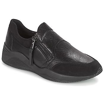 Schoenen Dames Lage sneakers Geox D OMAYA Zwart