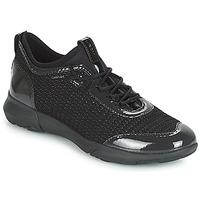 Schoenen Dames Lage sneakers Geox D NEBULA X Zwart