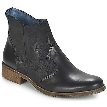 Schoenen Dames Laarzen Kickers LIXY Zwart