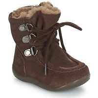 Schoenen Kinderen Hoge laarzen Kickers BAMARA Brown