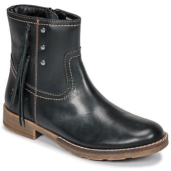 Schoenen Meisjes Hoge laarzen Kickers MOLLY Zwart