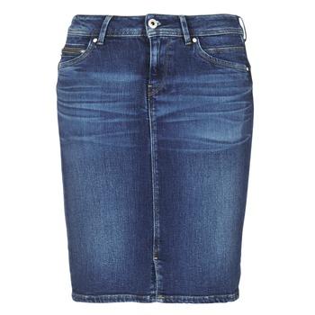 Textiel Dames Rokken Pepe jeans TAYLOR Blauw / Medium