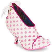 Schoenen Dames Low boots Irregular Choice Love is all around Wit / Roze