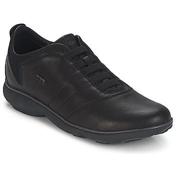Schoenen Heren Lage sneakers Geox NEBULA B Zwart