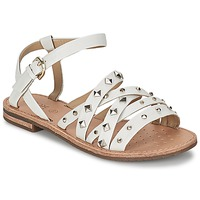 Schoenen Dames Sandalen / Open schoenen Geox JOLANDA E Wit