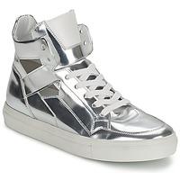 Schoenen Dames Hoge sneakers Kennel + Schmenger TONIA Zilver