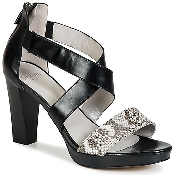 Schoenen Dames Sandalen / Open schoenen Perlato IREGUA Zwart / Python
