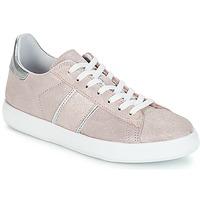 Schoenen Dames Lage sneakers Yurban JEMMY Roze