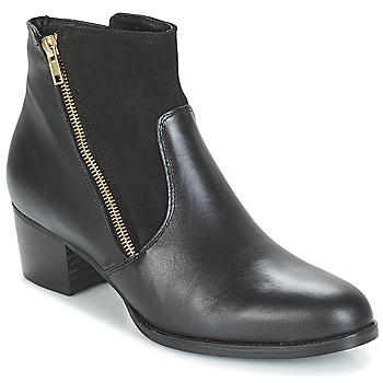 Schoenen Dames Enkellaarzen So Size JOPESE Zwart