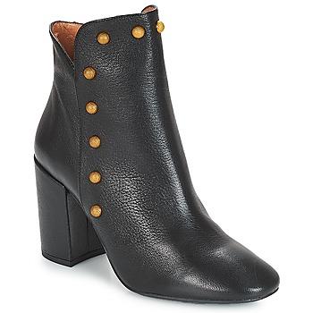 Schoenen Dames Enkellaarzen Fericelli JATTIPALIA Zwart
