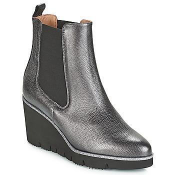 Schoenen Dames Laarzen Fericelli JERAMO Zilver