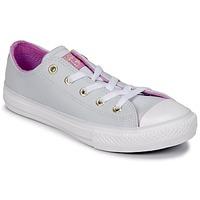 Schoenen Meisjes Hoge sneakers Converse CHUCK TAYLOR ALL STAR HI Puur / Platinum /  fuchsia / Glow / Wit