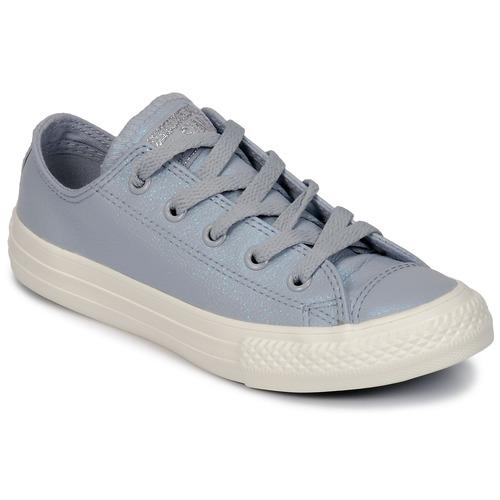 Schoenen Meisjes Lage sneakers Converse CHUCK TAYLOR ALL STAR OX Grijs