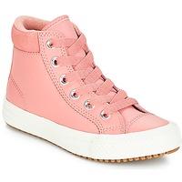 Schoenen Meisjes Hoge sneakers Converse CHUCK TAYLOR ALL STAR PC BOOT HI Rust / Roze / Burnt / Caramel / Rust / Roze