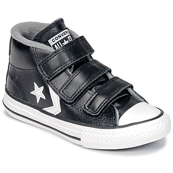 Schoenen Kinderen Hoge sneakers Converse STAR PLAYER 3V MID  zwart / Mason / Vintage / Wit