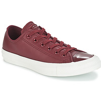 Schoenen Dames Lage sneakers Converse CHUCK TAYLOR ALL STAR LEATHER OX Bordeaux