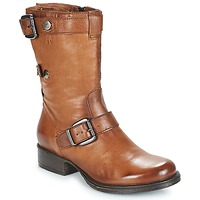 Schoenen Dames Laarzen Dream in Green ILINE Brown