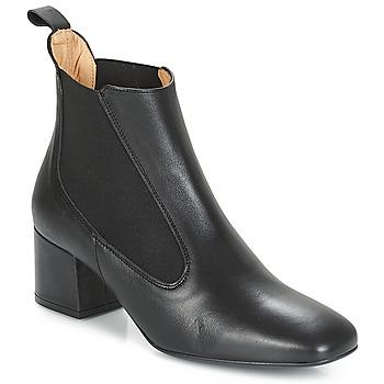 Schoenen Dames Enkellaarzen Betty London JUSSIVA Zwart