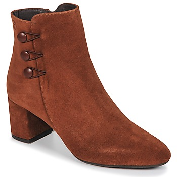 Schoenen Dames Enkellaarzen Betty London JOYE  camel
