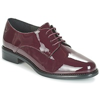 Schoenen Dames Derby Betty London CAXO Bordeaux