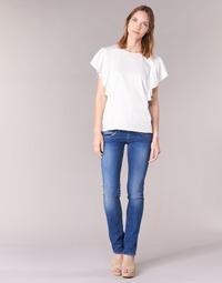 Textiel Dames Straight jeans Pepe jeans VENUS Blauw / Medium