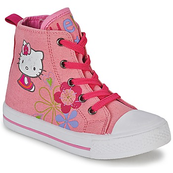 Schoenen Meisjes Hoge sneakers Hello Kitty LONS Roze