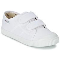 Schoenen Kinderen Lage sneakers Victoria BLUCHER LONA DOS VELCROS Wit