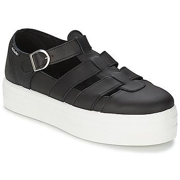 Schoenen Dames Sandalen / Open schoenen Victoria SANDALIA PIEL Zwart
