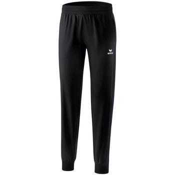 Textiel Dames Trainingsbroeken Erima Pantalon présentation femme  Premium One 2.0 noir