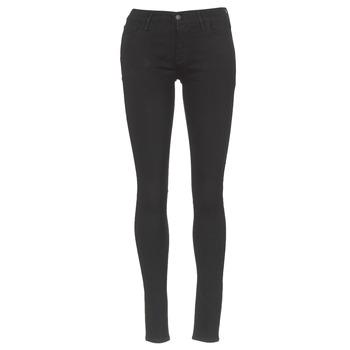 Textiel Dames Skinny Jeans Levi's INNOVATION SUPER SKINNY  zwart / Galaxy