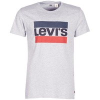 Textiel Heren T-shirts korte mouwen Levi's SPORTSWEAR LOGO GRAPHIC Grijs