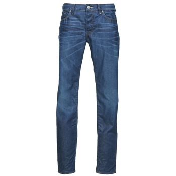 Textiel Heren Straight jeans G-Star Raw 3301 LOW TAPERED Blauw / MEDIUM