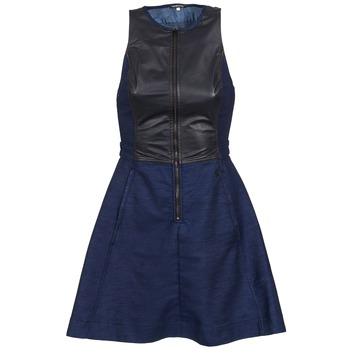 Textiel Dames Korte jurken G-Star Raw SUTZIL DRESS Marine / Zwart