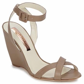Schoenen Dames Sandalen / Open schoenen Rupert Sanderson ALIGHT Brown