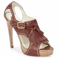 Schoenen Dames Sandalen / Open schoenen Rupert Sanderson MANON Elbamatt-cuoio