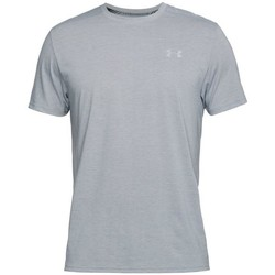 Textiel Heren T-shirts korte mouwen Under Armour Threadborne Streaker SS Gris