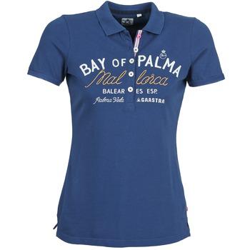 Textiel Dames Polo's korte mouwen Gaastra MISTY Blauw