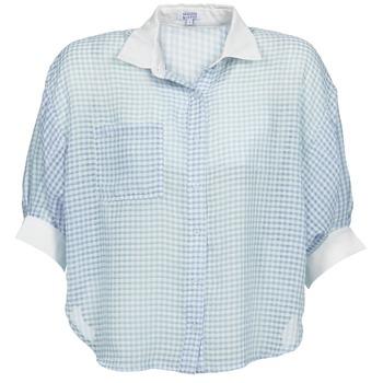 Textiel Dames Overhemden Brigitte Bardot AMARANTE Blauw / Wit