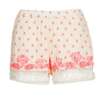 Textiel Dames Korte broeken / Bermuda's Brigitte Bardot ANGELINE Ecru