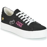 Schoenen Dames Lage sneakers Coolway COOL Zwart