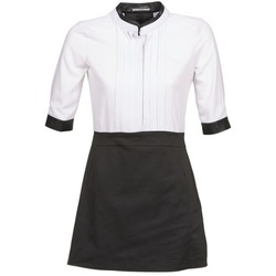 Textiel Dames Korte jurken La City COLUMBA Zwart / Wit