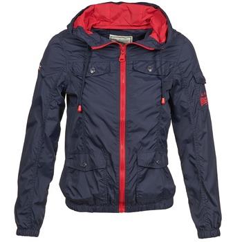 Textiel Dames Wind jackets Lonsdale GLOUCHESTER Marine