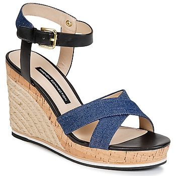 Schoenen Dames Sandalen / Open schoenen French Connection LATA Blauw / Denim